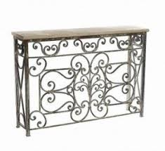 Metal Entry Table Wrought Iron Foyer Table Foter