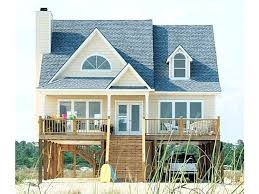 narrow waterfront house plans piling home plans beach house plans on pilings best of narrow lot