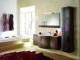 bathroom modern bathroom storage cabinets tall floating black