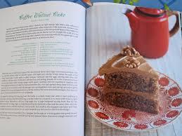 coffee walnut cake from the great british book of baking