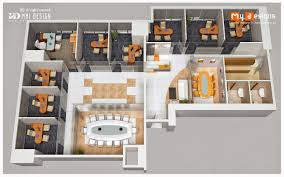 3d Office Floor Plan Office Floor Plan Design Proposal For Sun Pharama One Of Mhi