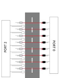 Solar Street Light Wiring Diagram - street lights that glow on detecting vehicle movement circuit
