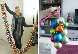 grosgrain diy ornament garland