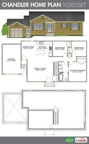 chandler 3 bedroom 1 bathroom home plan features open concept