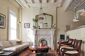 brownstone furniture for a shabby chic style living room with a