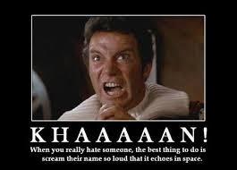 Scream Meme - star trek meme scream their name on bingememe