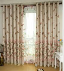 Curtains Printed Designs Style Room Darkening Curtain Printed With Floral Pattern Curtains