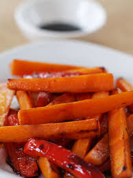 thanksgiving carrot side dish recipe stove top balsamic glazed carrots recipe balsamic glazed