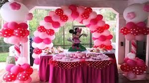 minnie mouse birthday decorations party decorations miami balloons