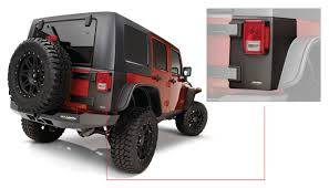 jeep body armor jeep trail armor rear corner pair oe matte black 14010