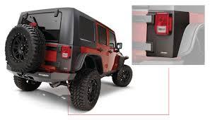 jeep islander 4 door jeep trail armor rear corner pair oe matte black 14010
