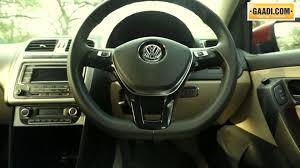 volkswagen polo modified interior 2014 volkswagen polo interior in india youtube
