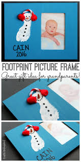 footprint craft diy picture frame gift idea consumer crafts