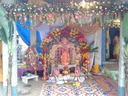 Home Temple Decoration Ideas Ganesh Chaturthi Home Decorations Decorating Ideas Images Themes