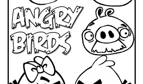 angry birds coloring pages angry birds rio printables