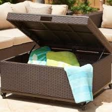 Patio Storage Ottoman 143 Best Furniture Wicker Images On Pinterest Wicker Furniture
