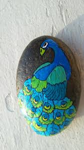 285 best pebbles and stones peacock images on pinterest