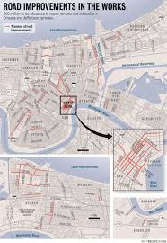 Street Map New Orleans French Quarter by French Quarter Kenner Streets Will Get Facelifts Nola Com