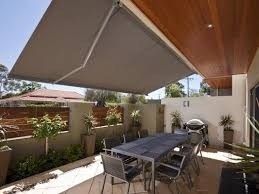 retractable awnings custom blinds perth wa great western shade