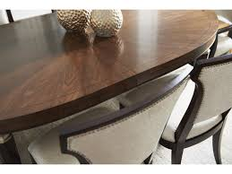 lexington tower place contemporary drake oval dining table with