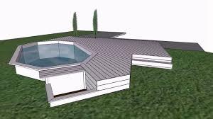 amenagement autour piscine hors sol terrasse piscine bois ipé youtube