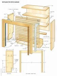 wooden spice rack plans u2022 woodarchivist