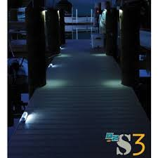 Solar Dock Lighting by H2 Sw3 Solar Powered Dock Lights System Waterfront Lighting