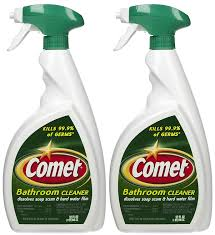 Harmful Household Products Amazon Com Comet Bathroom Cleaner Spray 32 Oz 2 Pk Health