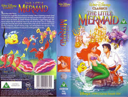 mermaid vhs cover mermaid photo disney