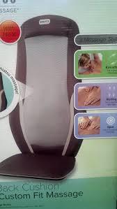 Homedics 3 Amazon Com Homedics Shiatsu Massage Cushion Full Back Cushion