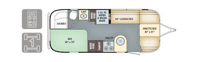 Micro Floor Plans by Floorplans International Signature Airstream