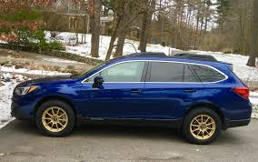 blue subaru gold rims post pics of your 5th gen outback page 147 subaru outback