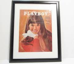 barbi benton 1980 vintage playboy magazine cover matted framed march 1970