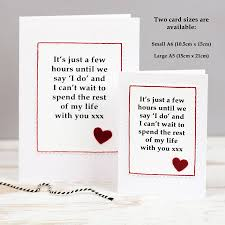 Wedding Gift Husband Wedding Day Card For Husband Or Wife By Jenny Arnott Cards U0026 Gifts