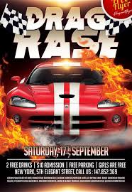 download the drag race free flyer template for photoshop