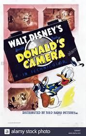 donald u0027s camera poster art donald duck 1941 stock photo