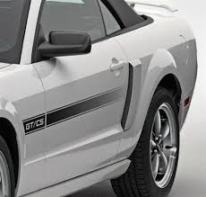 california style mustang california special style side scoop kit 05 09 63424a62aa