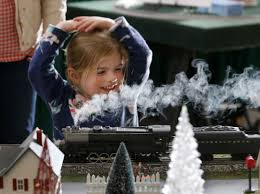 top five weekend events gardenfest of lights model railroad show