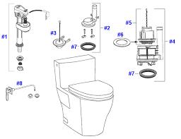 Toto Aimes Faucet Toto Aimes Toilet Replacement Parts