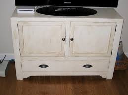 ana white rustic media console cabinet diy projects