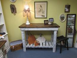 rustic reclaimed wood buffet bar console table just fine tables
