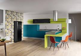 cuisine en couleur meubles de cuisine en couleur femme actuelle