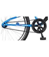 hero rx 1 26t single speed sprint bike black u0026 blue buy online