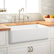 Cheap Farmhouse Kitchen Sinks 33 Grigham Reversible Farmhouse Sink White Kitchen