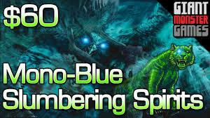 modern slumbering spirits deck tech budget mono blue combo 60