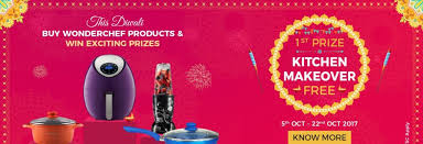 Kitchen Makeovers Contest - wonderchef kitchen makeover contest buy and win grand prizes