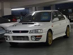 sti subaru red used 1997 subaru impreza 2 0 wrx sti 4 v4 red top 280 bhp jdm for