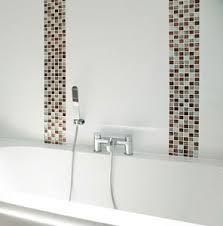 Feature Wall Bathroom Ideas Transform Mosaic Tile Feature Wall Bathroom For Home Decoration