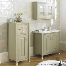 english heritage designer 800mm pistachio bathroom mirrored cabinet
