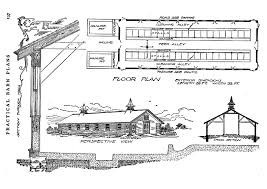 Cattle Barns Designs Agricultural Literature And Rural Life National Endowment For